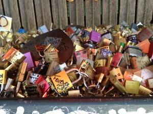 Remnants of love in Paris
