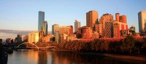 Melbourne-Australia-sunrise