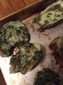 Hopefully yours will be prettier than these but either way they are so shuckin' good.