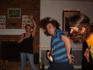 An example of me at my dancing peak