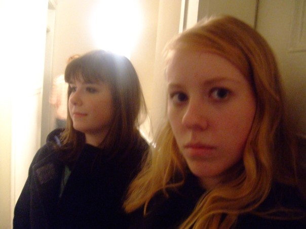 This was the oldest college photo I could find. Sophomore year with my roommate at a party being wallflowers.